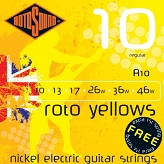 Rotosound R10 Yellows